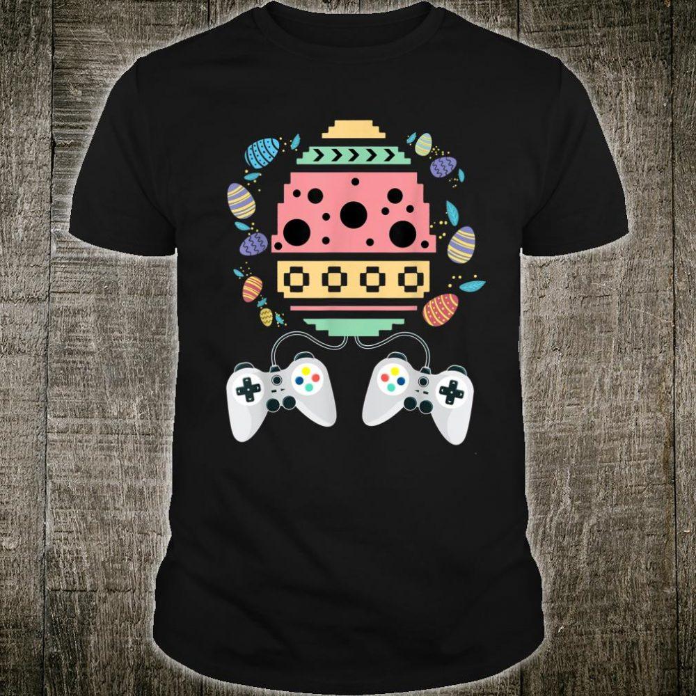 Funny Gamer Easter Girls Toddler Video Game Shirt