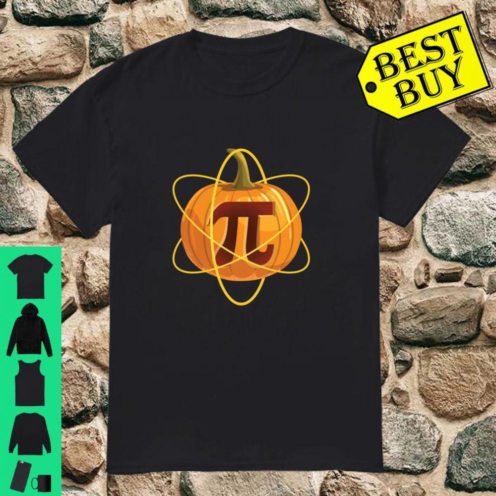 Funny Halloween For Teachers Students Math Pumpkin Pi Shirt
