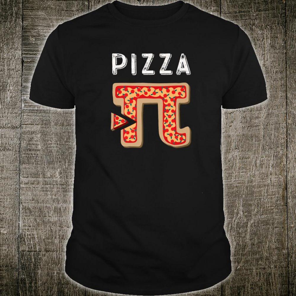 Funny Pi Day Shirt Pizza Pie Pun Student & Math Teacher Shirt