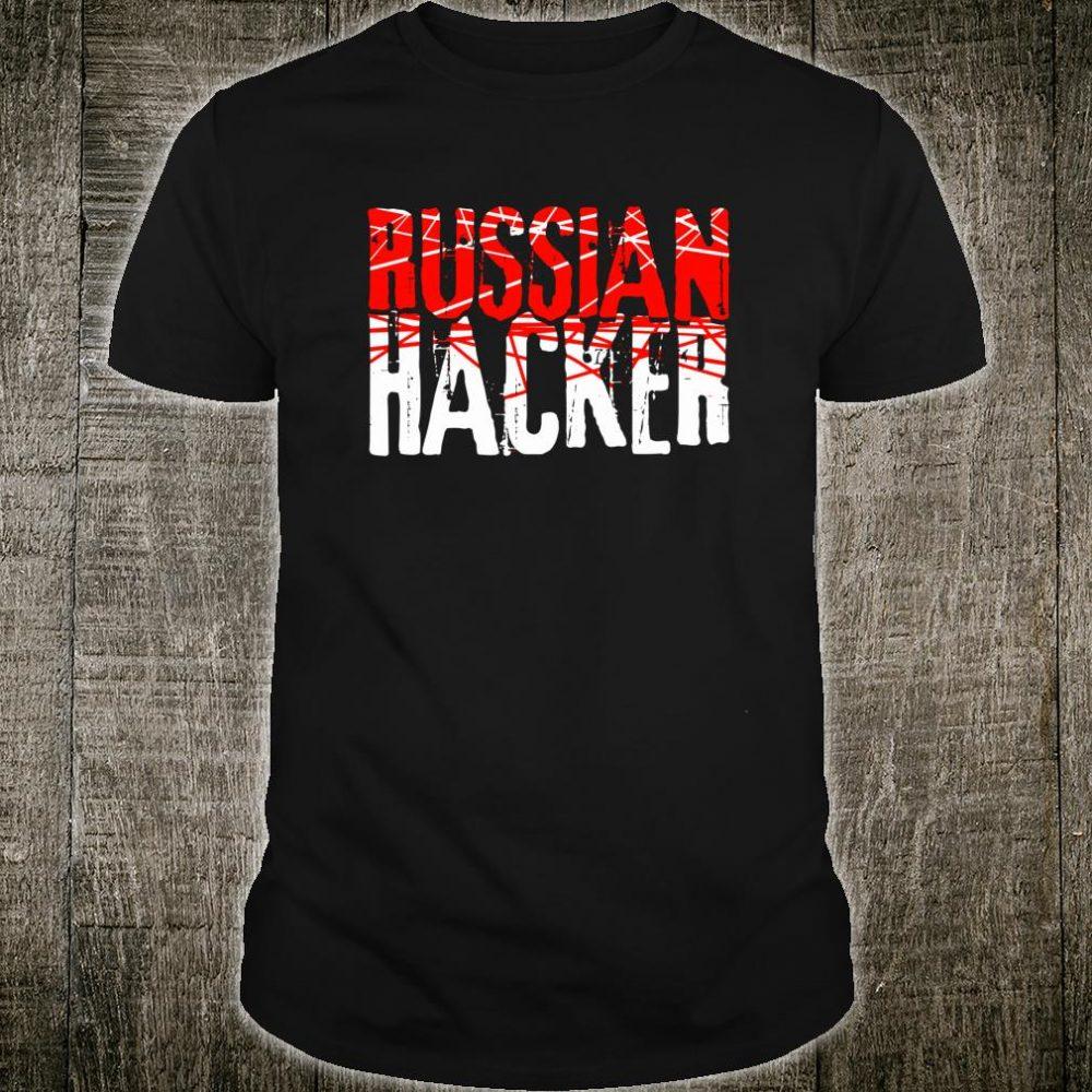 Funny Russian Hacker Computer Programmer For Trump Fan Shirt