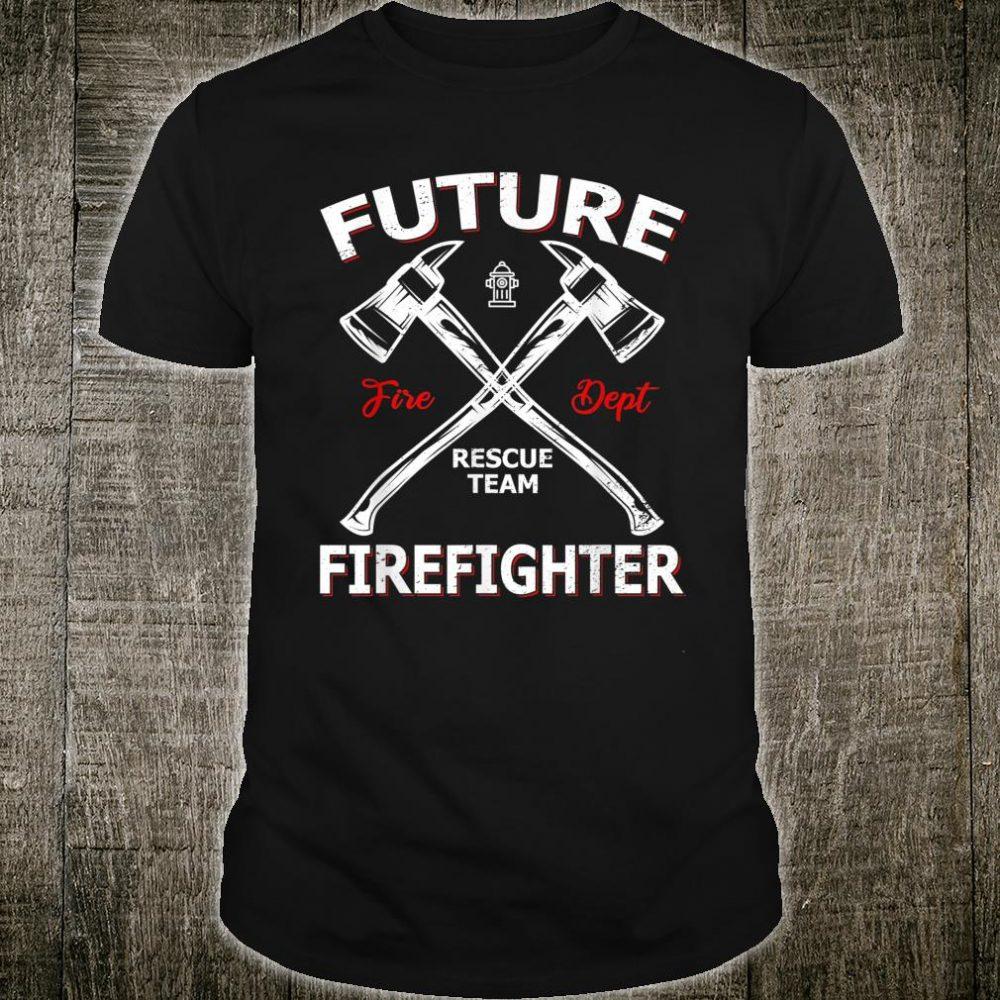 Future Firefighter Rescue Team Shirt