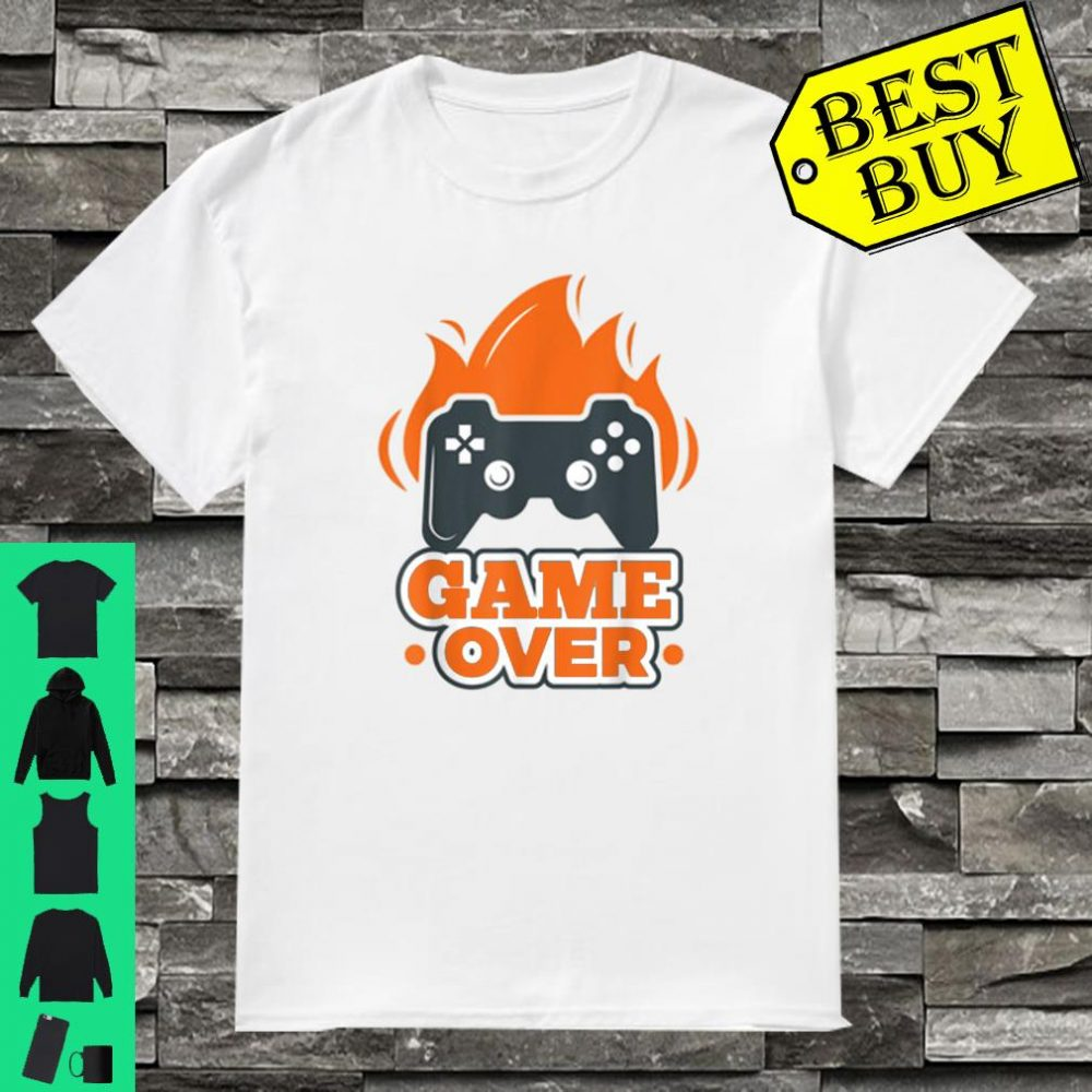 Gaming s Game Over Gaming Controller Shirt