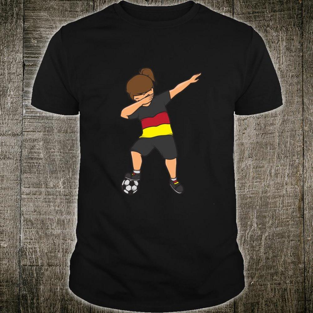 German Soccer Football Foosball Dabbing Dab Player Shirt