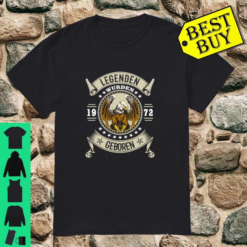Geschenk zum 48 Geburtstag Jahrgang 1972 48 Jahre 2020 Langarm Shirt