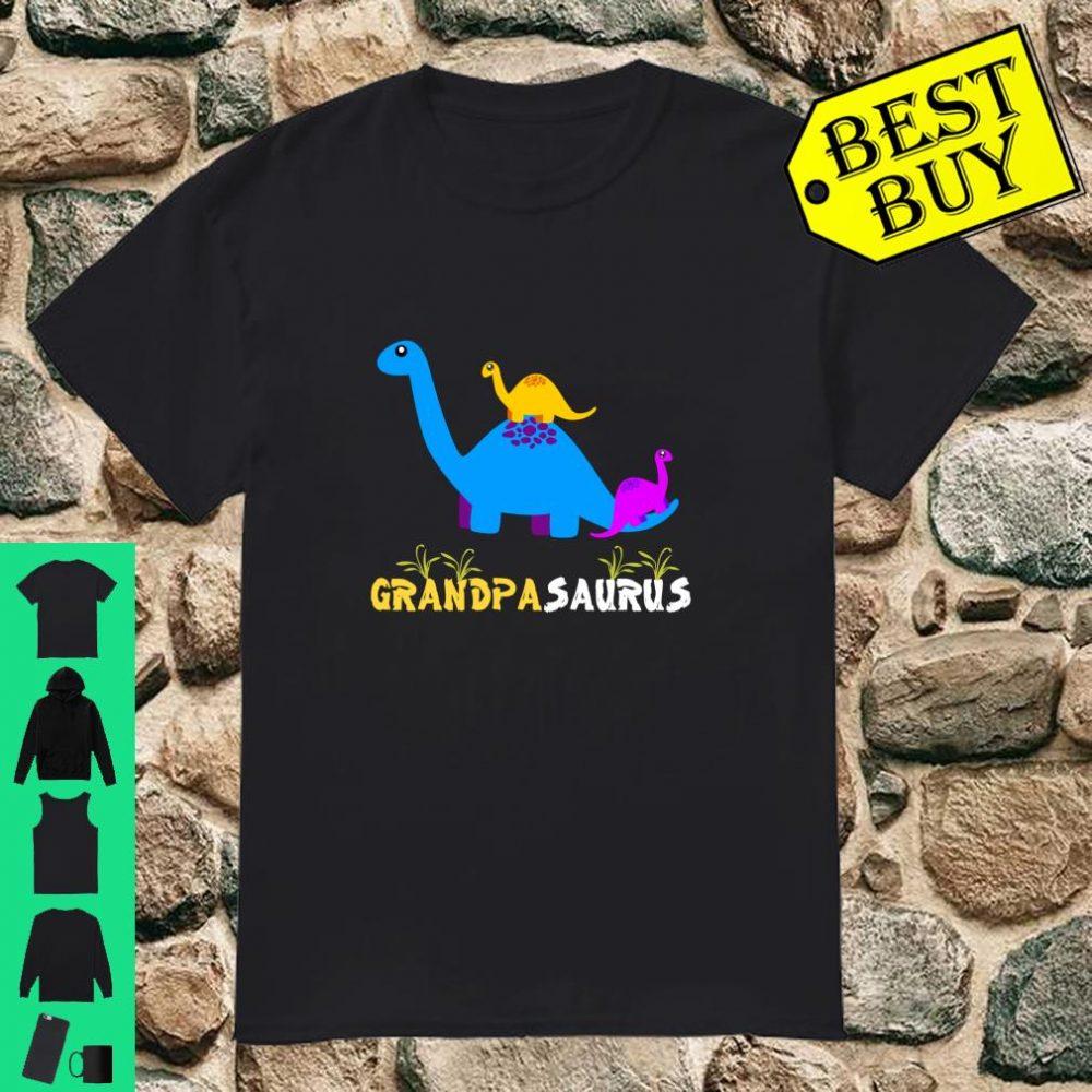 Grandpasaurus Shirt Grandpa Dinosaur shirt