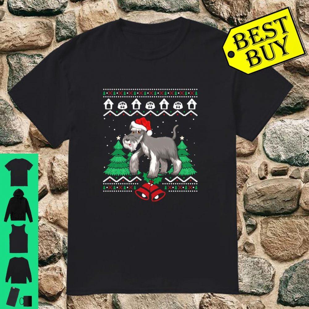 Great Ugly Christmas Sweater Miniature Schnauzer Dog shirt