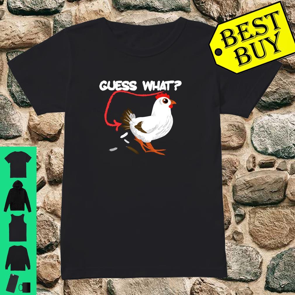 guess what chicken t shirt