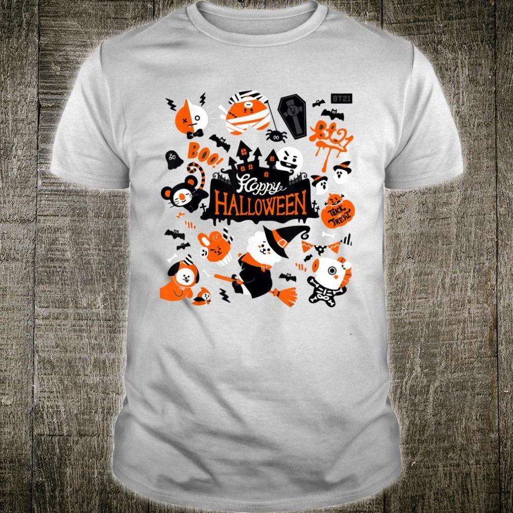 HalloweenBT21BTS+ CUTE CHIBI Shirt