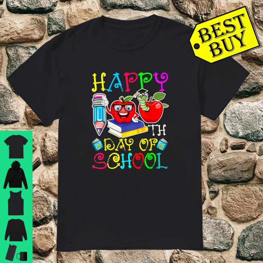 Happy 100th Day of School For Teacher & Student Shirt