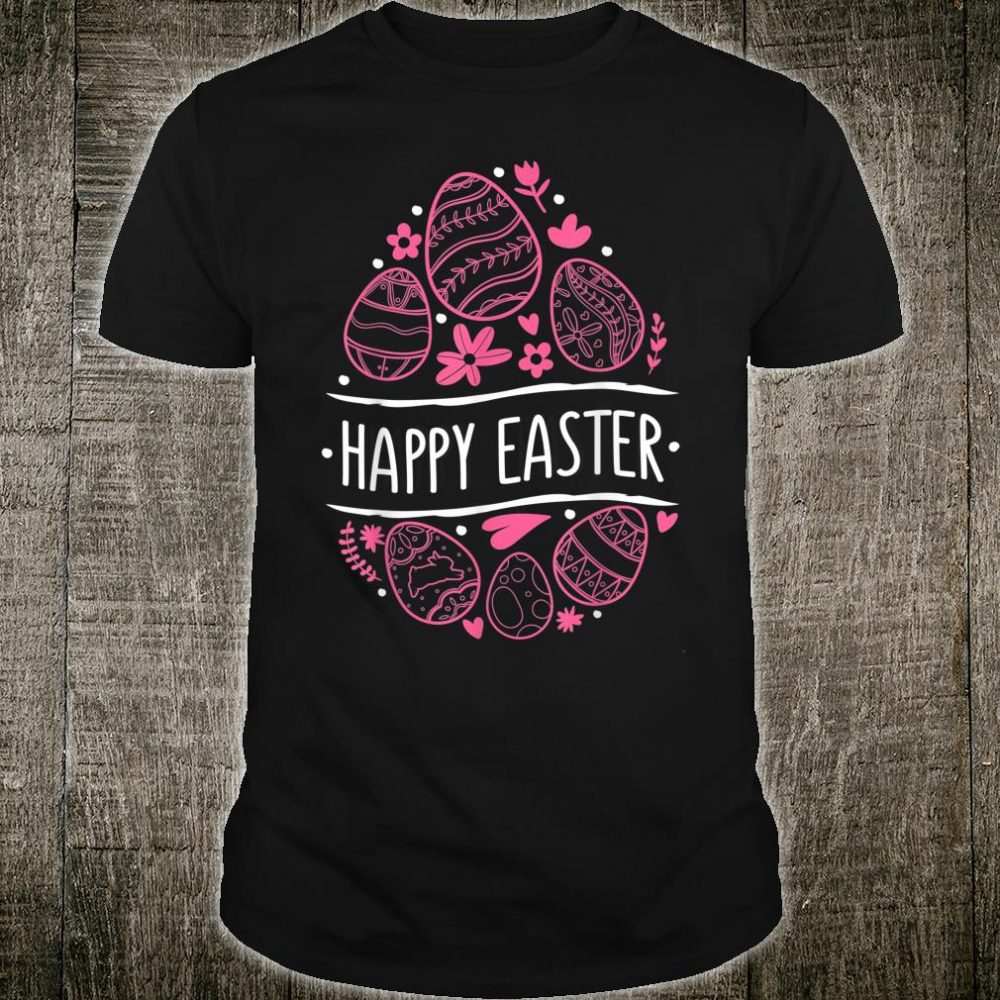 Happy Easter Day Eggs Shirt Colorful Egg Cute Shirt