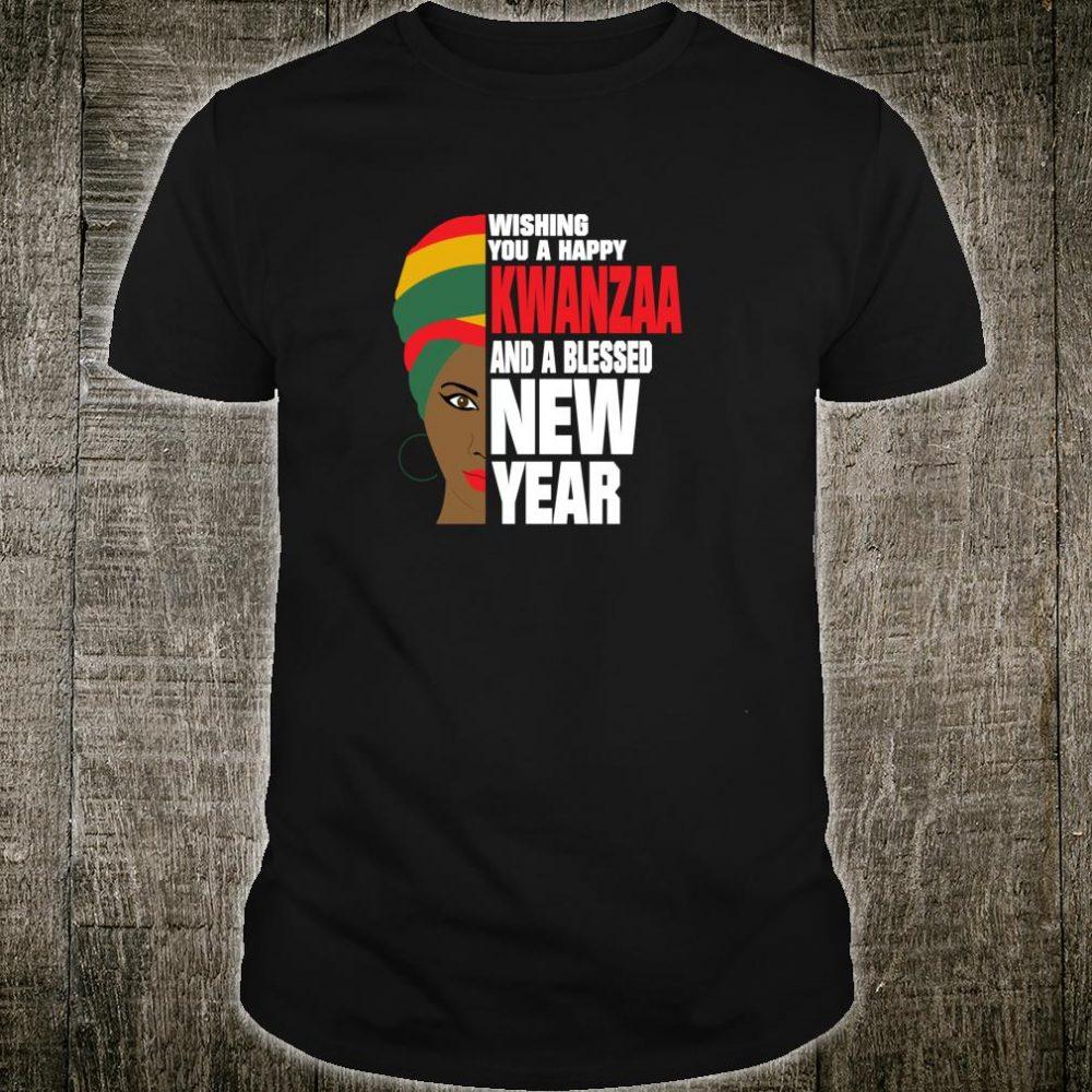 Happy Kwanzaa Celebration Black African Queen Shirt