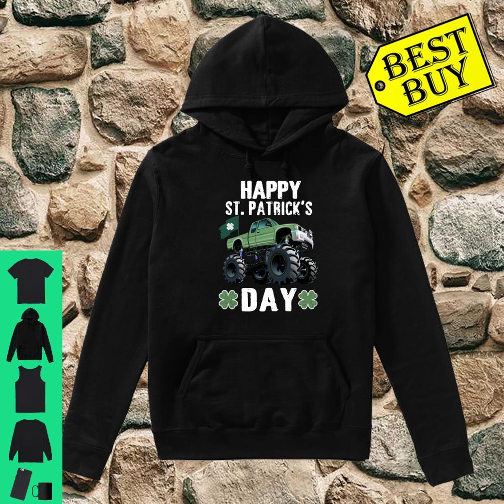 Happy St.Patrick's Day Monster Truck Leprechaun Shirt hoodie