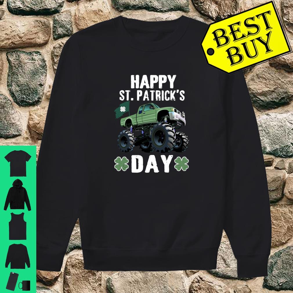 Happy St.Patrick's Day Monster Truck Leprechaun Shirt sweater