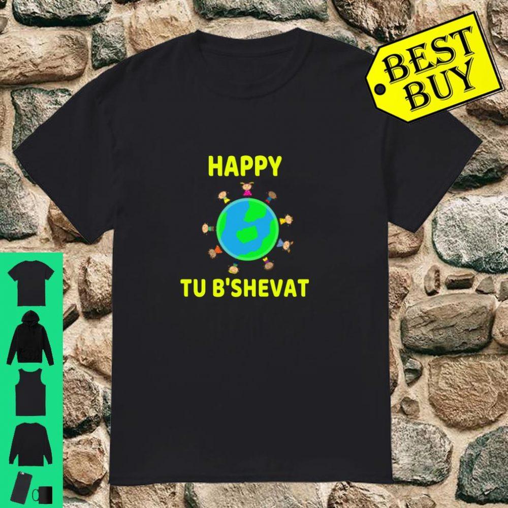 Happy Tu B'shevat Trees Birthday Jewish shirt
