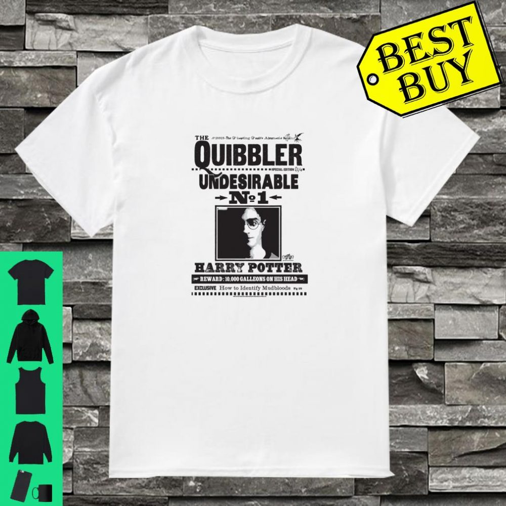 Harry Potter Undesirable Number 1 Poster Shirt
