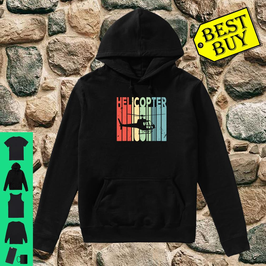 Helicopter Retro Vintage Unisex Shirt hoodie