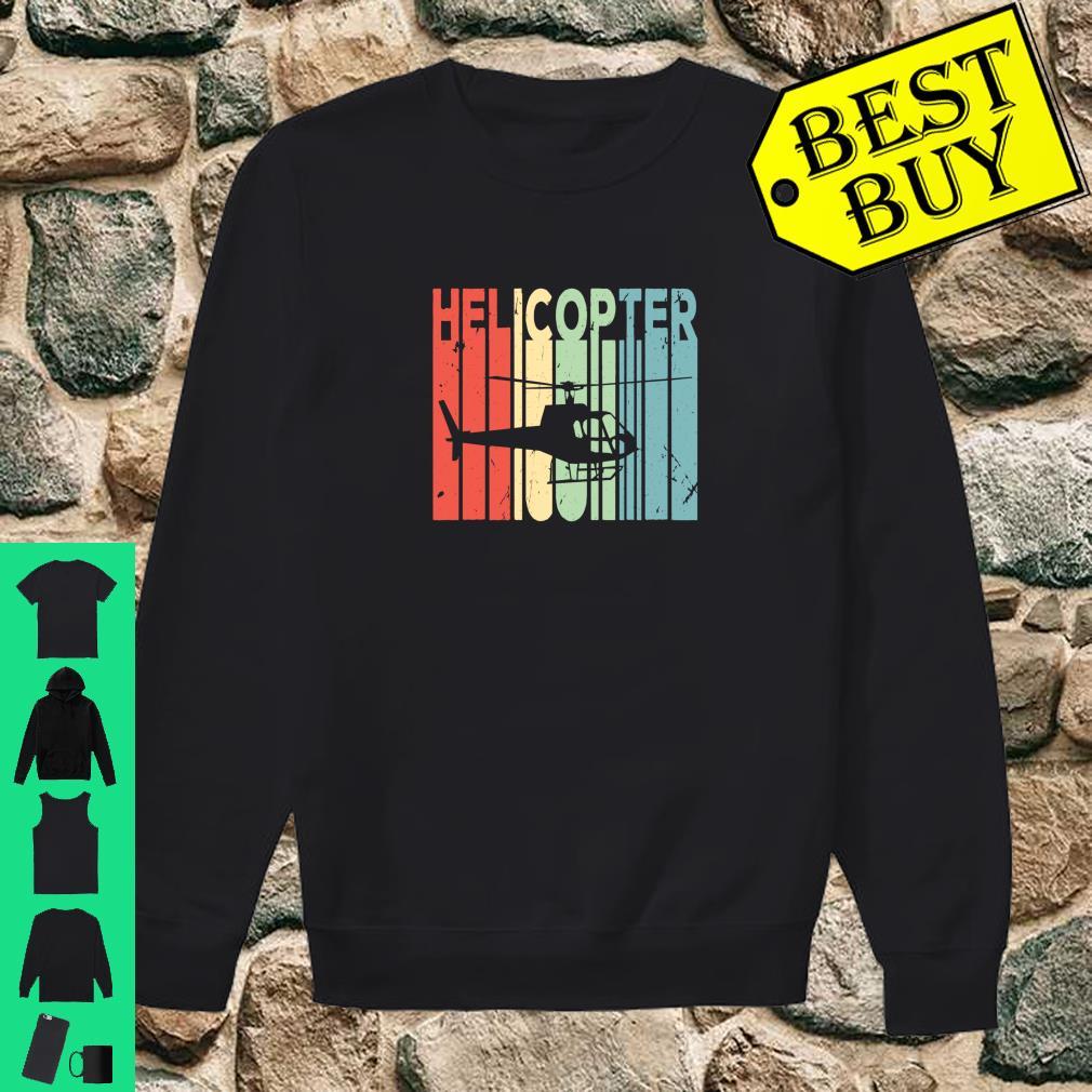 Helicopter Retro Vintage Unisex Shirt sweater