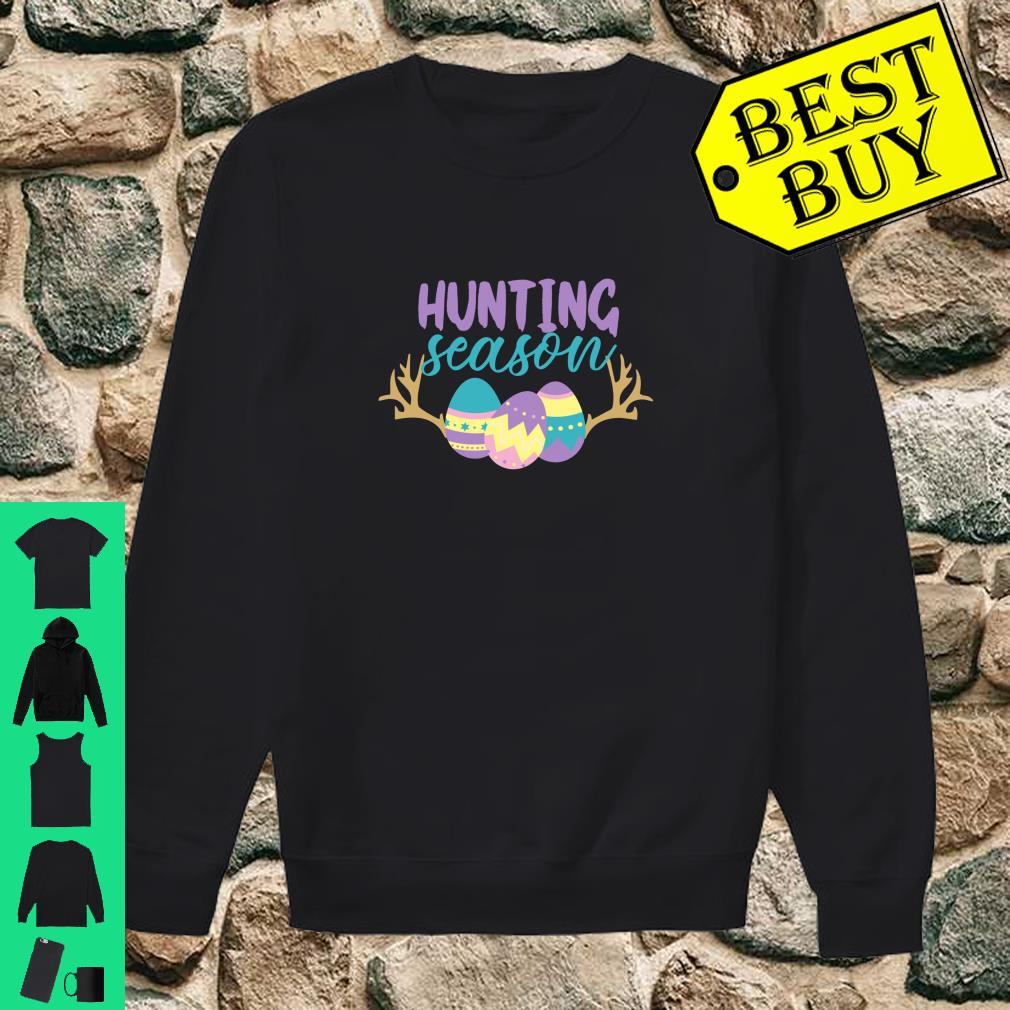 Hunting Season Cute Easter shirt sweater