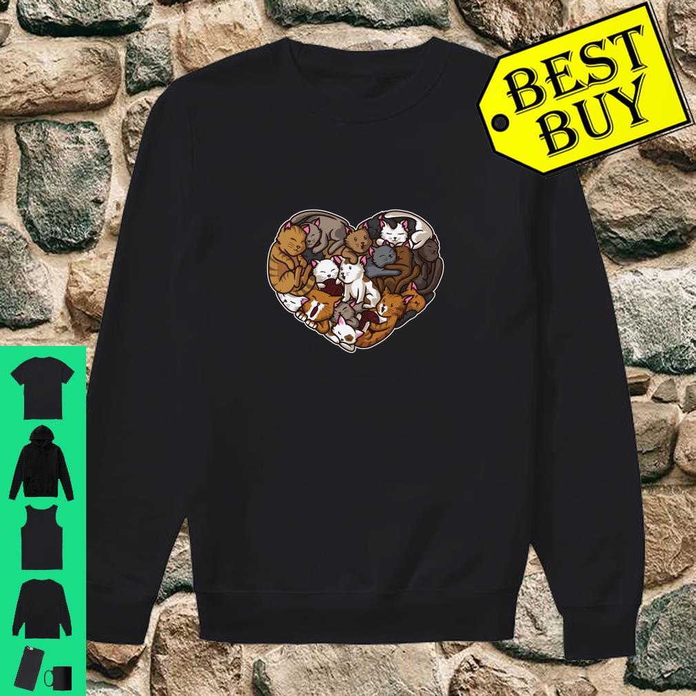 I Love Kittens Heart Full Of Cats Cute Feline shirt sweater
