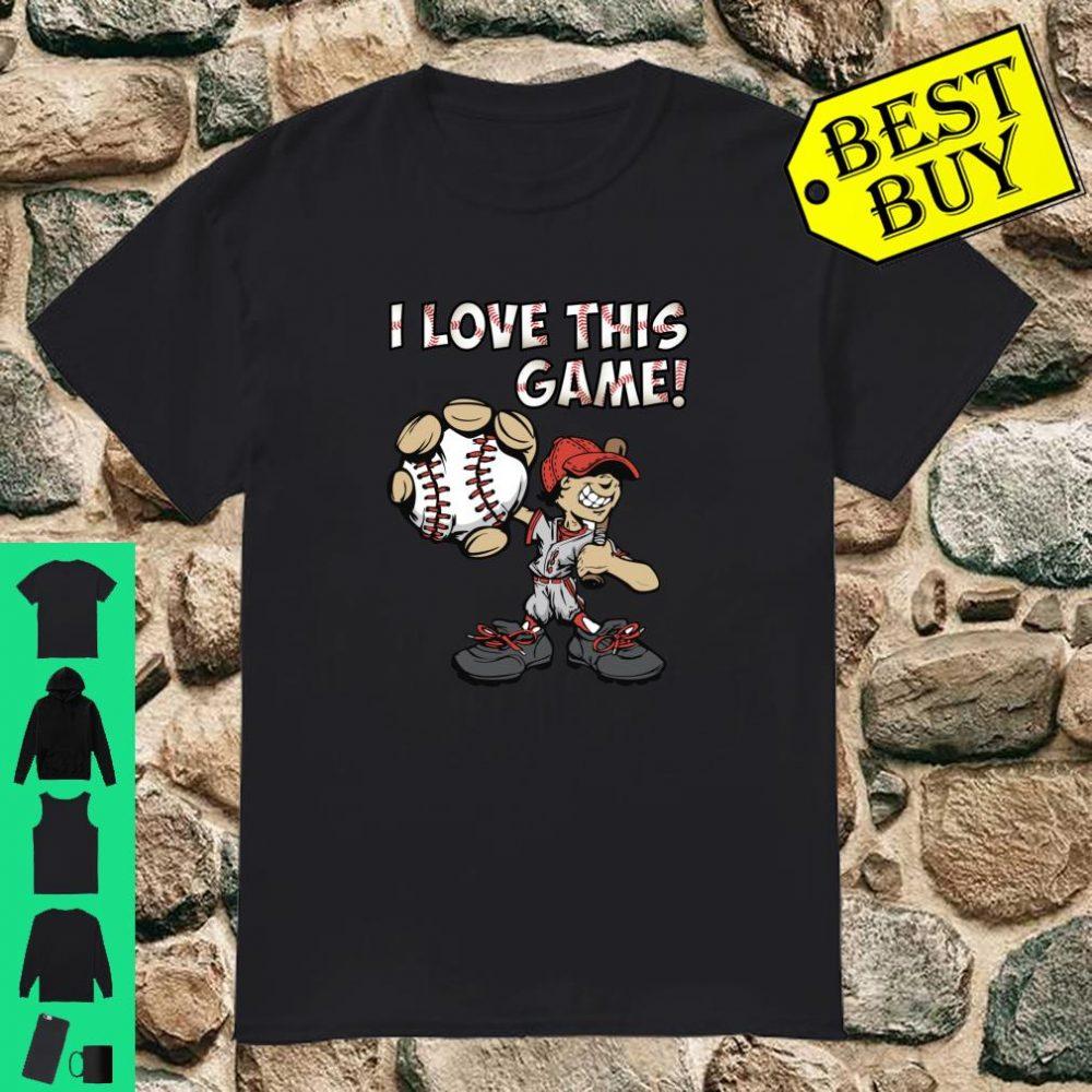 I Love This Game Shirt