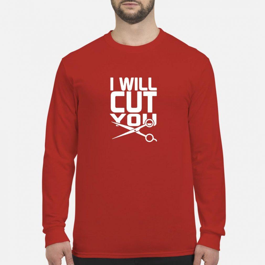 I will cut you shirt long sleeved