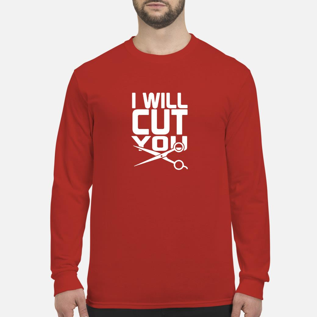 I will cut you shirt long sleeved