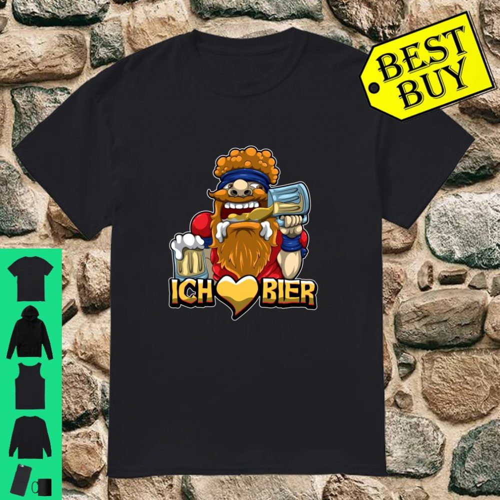 Ich liebe Bier Alkohol Durst Malle Saufen Oktoberfest Langarm Shirt