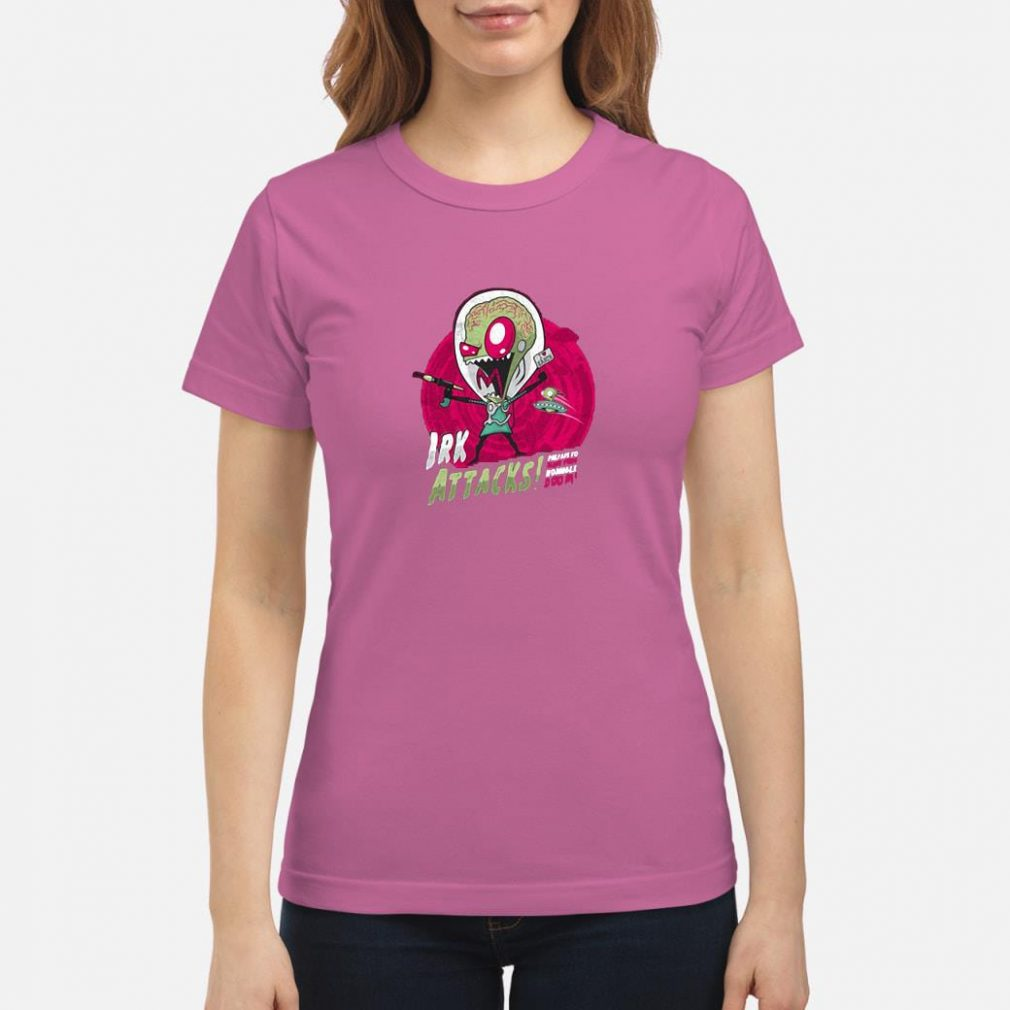 Irk attacks shirt ladies tee