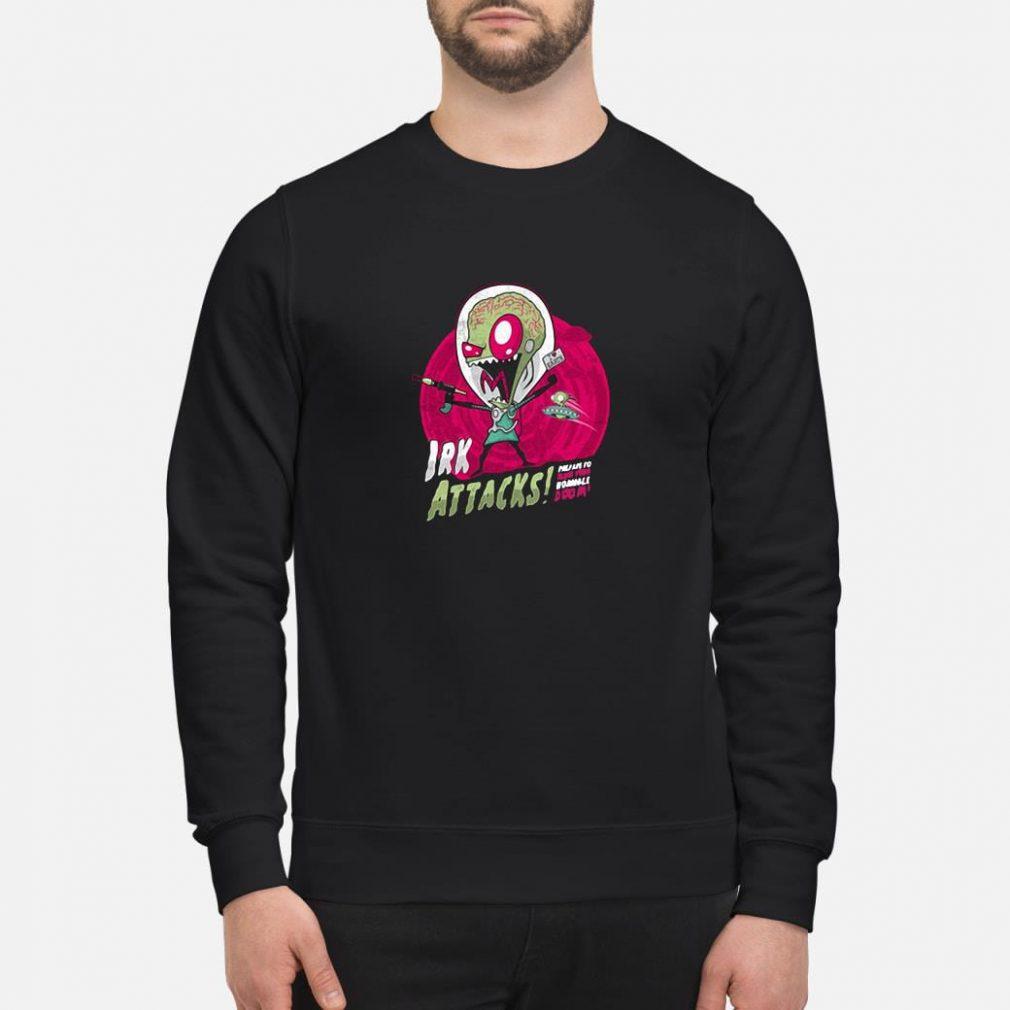 Irk attacks shirt sweater