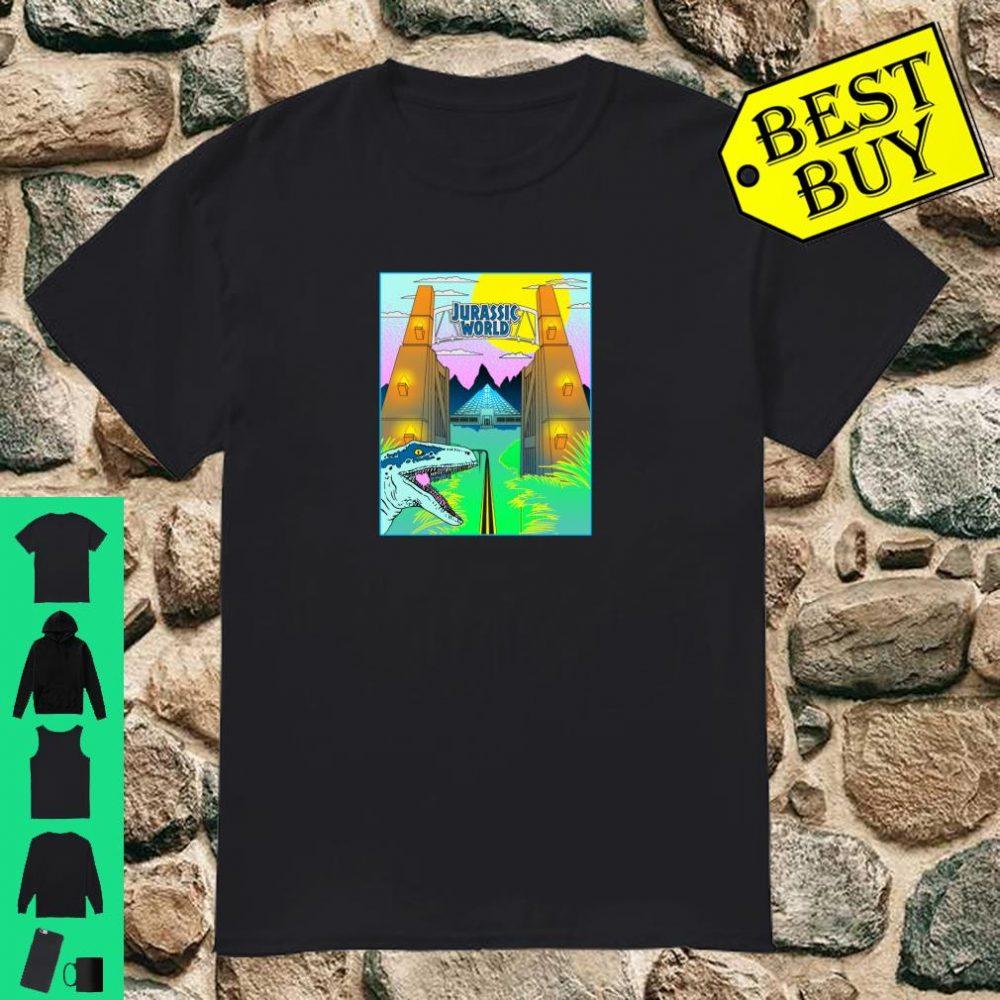 Jurassic World Gates Poster Shirt