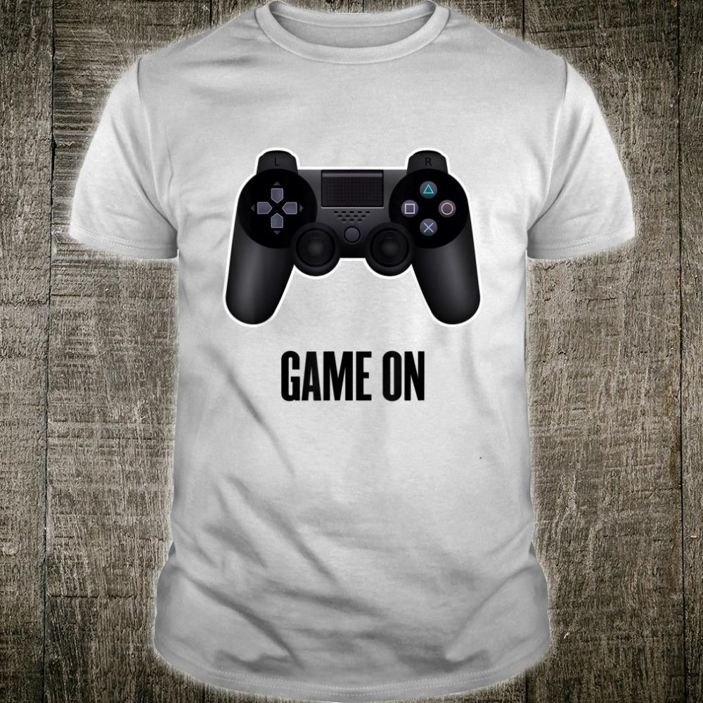 Keep Calm And Game On Cool Game Shirt