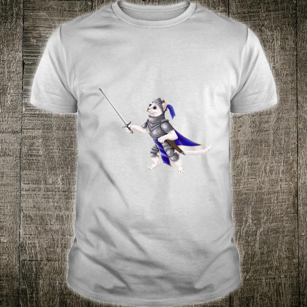 Knight cat kitty in a suit of armor Shirt
