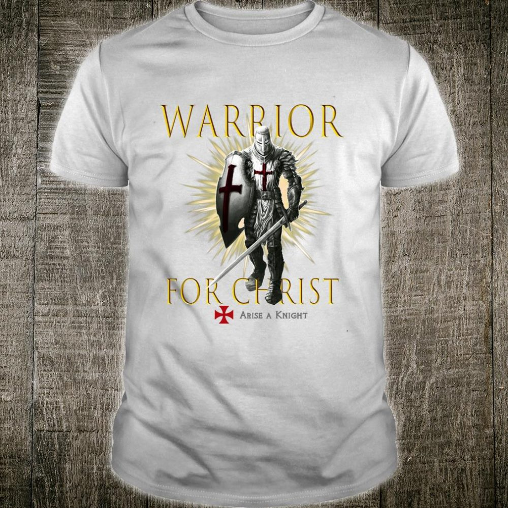 Knights Templar Christian Religious Warrior Oath Easter Shirt