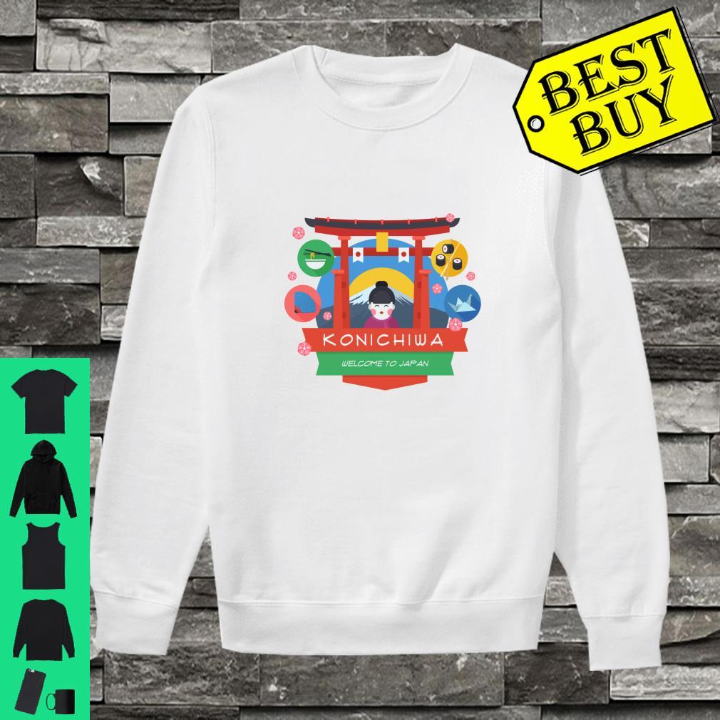 Konichiwa Welcome To Japan Shirt sweater