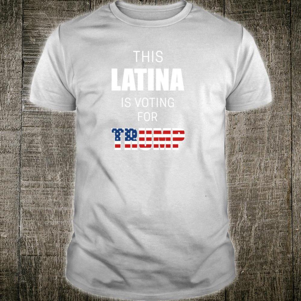 Latinos For Trump 2020 Election President Hispanic Shirt