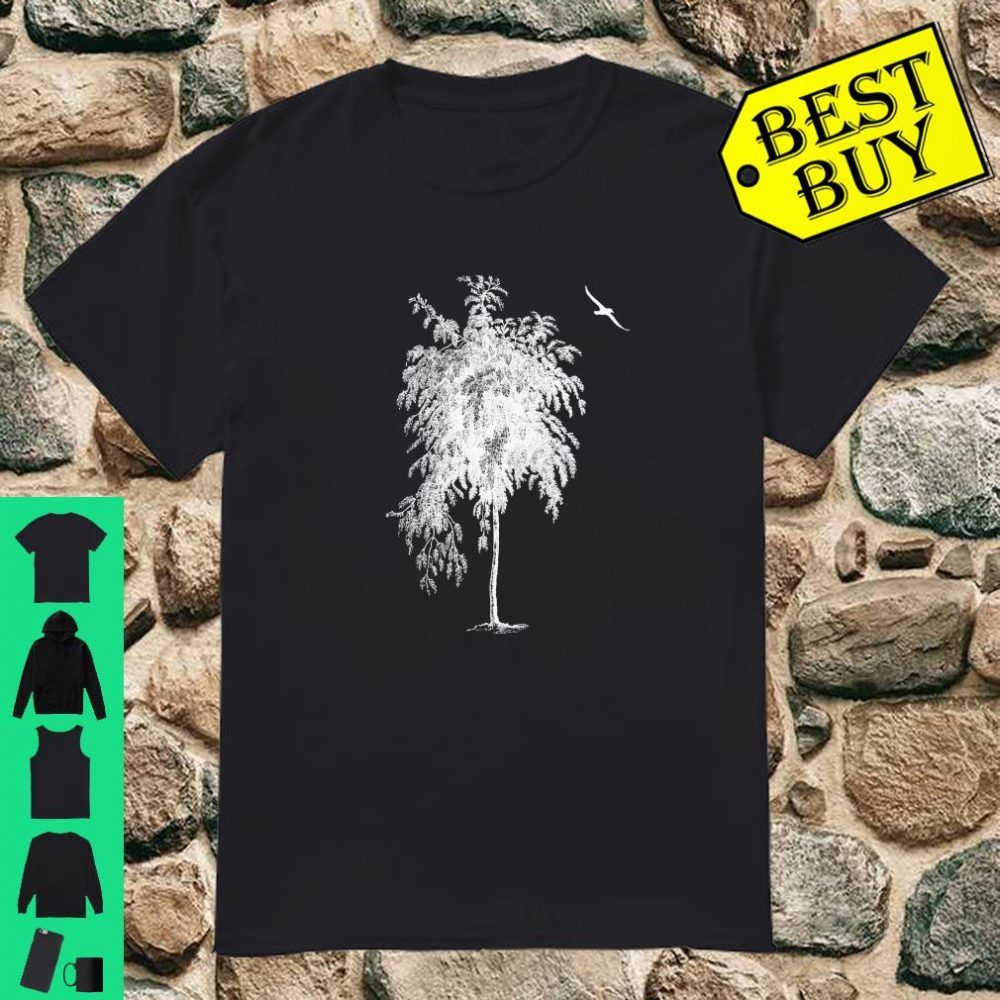 Lonely Bird and Tree 3 Series Shirt