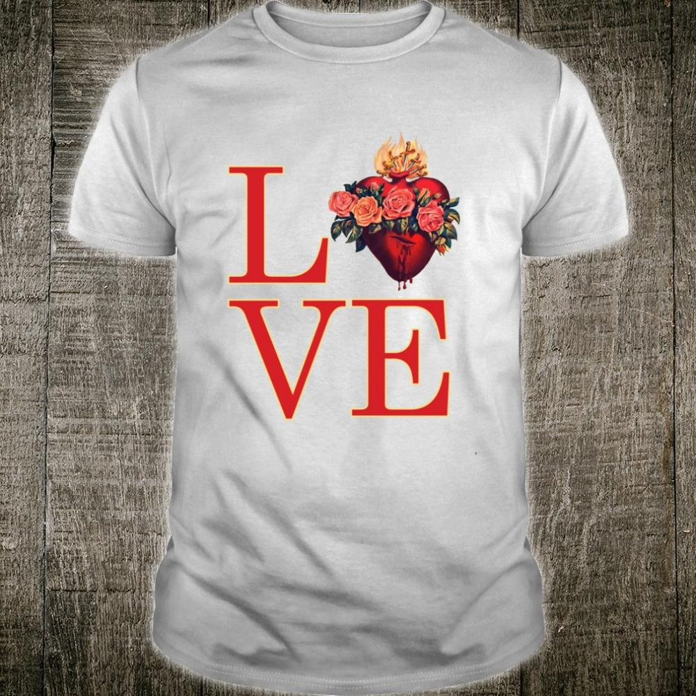 Love of the Immaculate Heart of Mary Our Sorrows Catholic Shirt