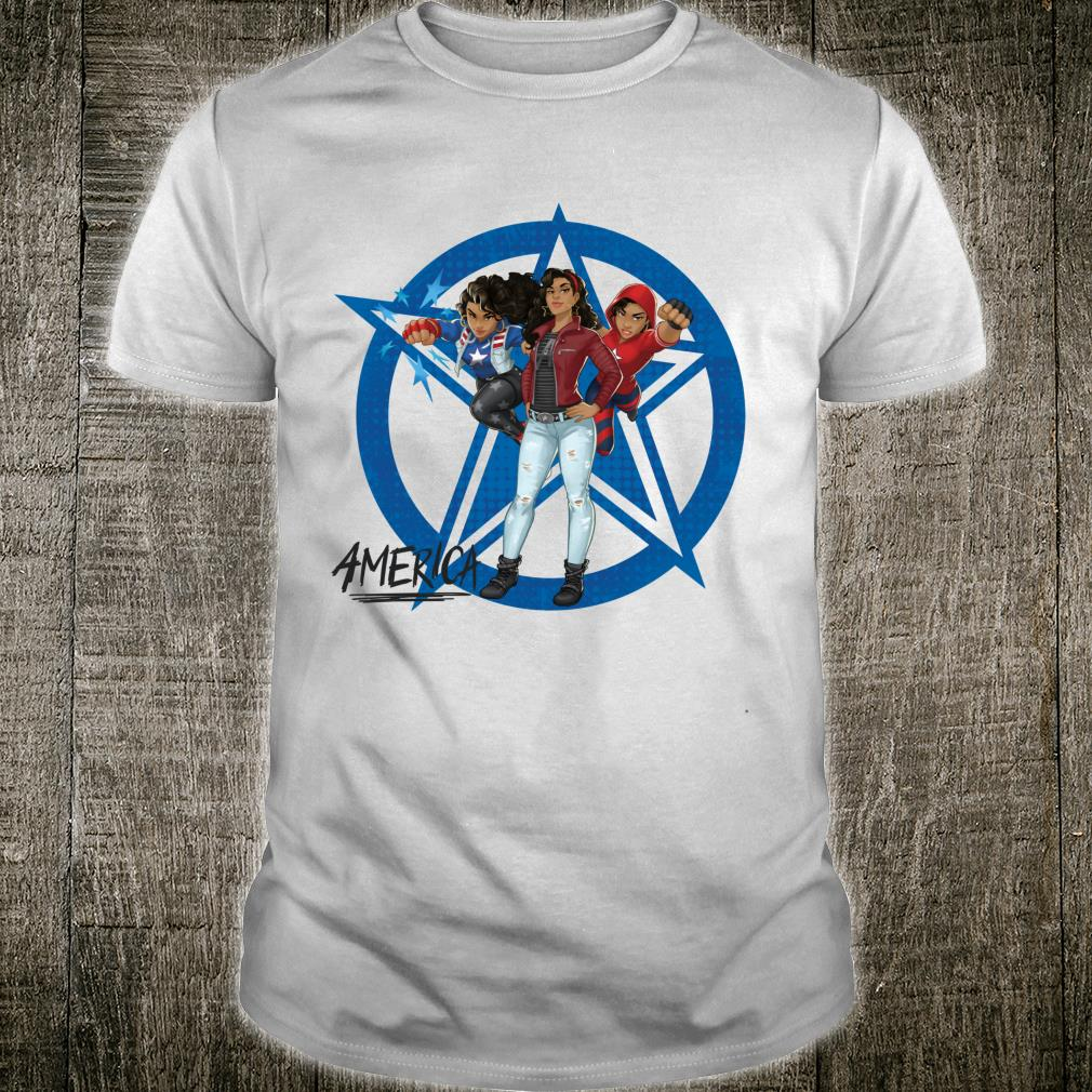 Marvel Rising Secret Warriors America Chavez Costumes Shirt