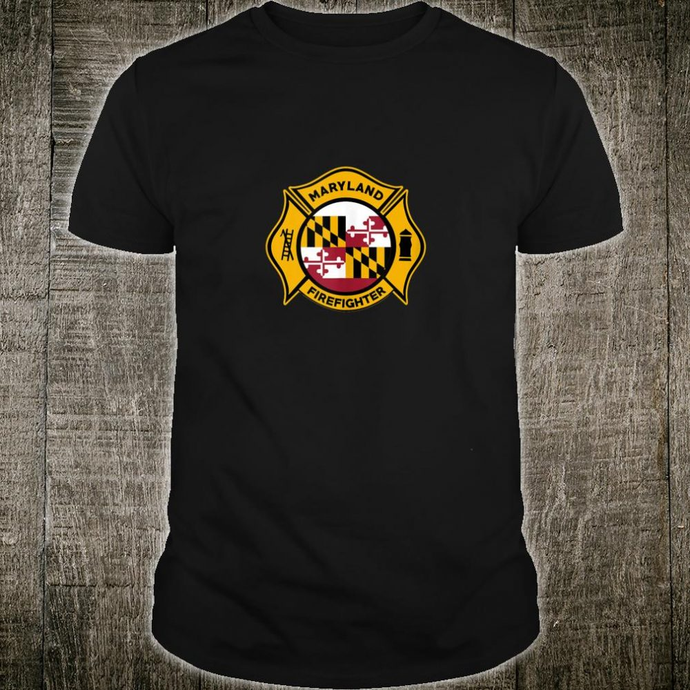 Maryland Fire Rescue Department Firefighters Duty Shirt