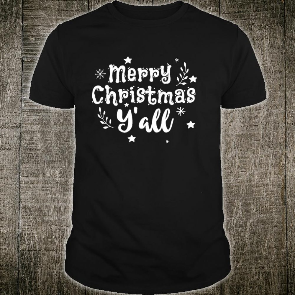 Merry Christmas To All Shirt