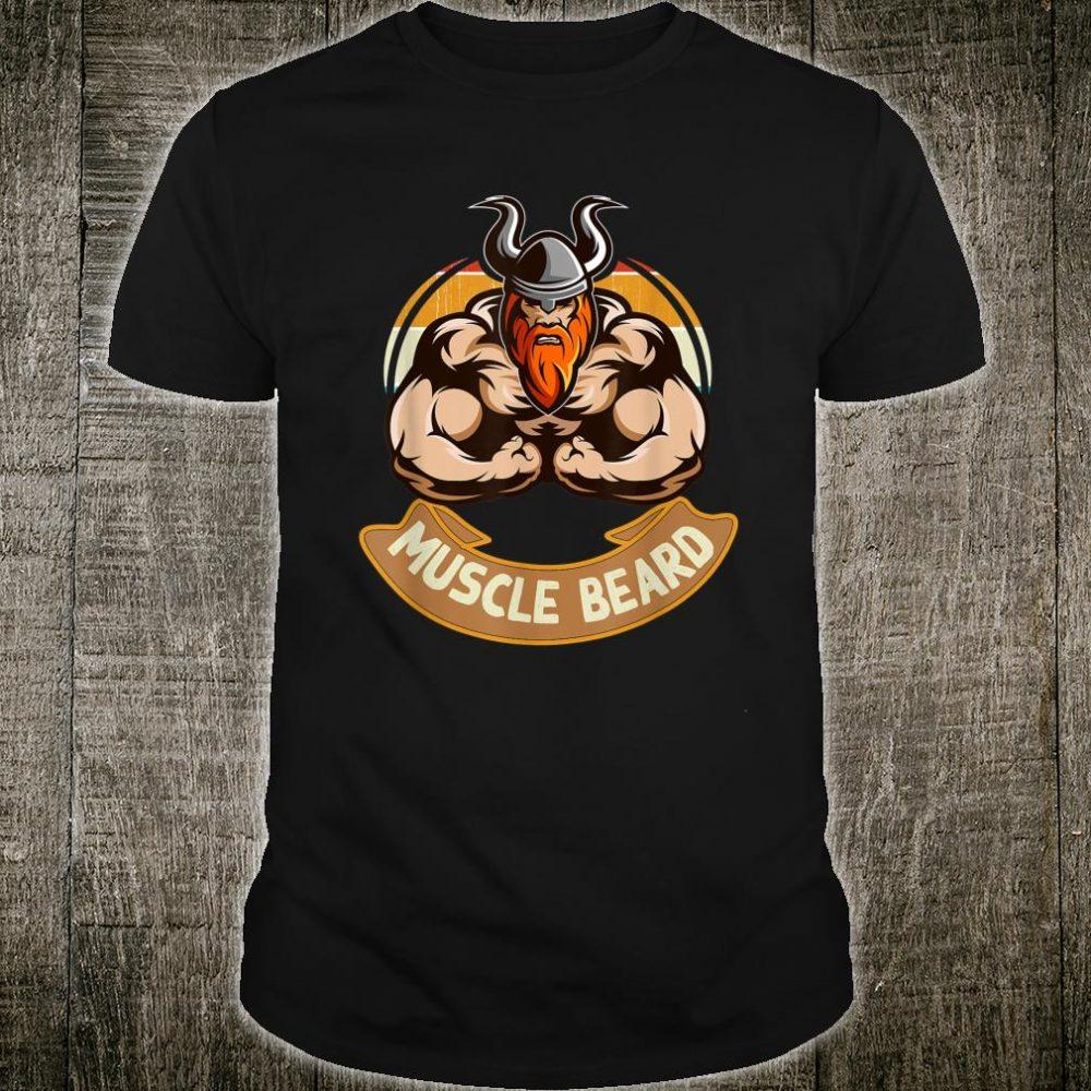Muscular Man With Beard, Bearded Strong Man Shirt