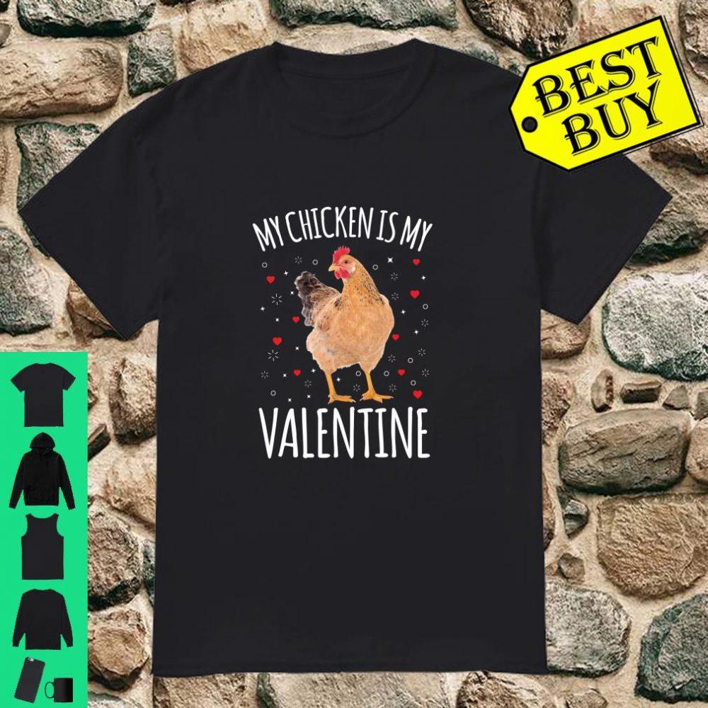 My Chicken Is My Valentine Shirt For Men Women Chicken shirt