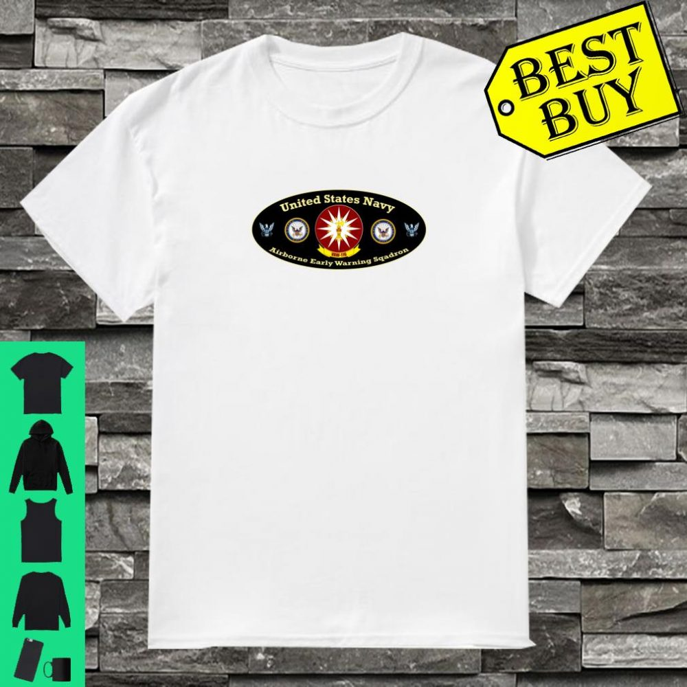 NAVY AIRBORNE EARLY WARNING SQUADRON VAW116 BADGE IMAGE Shirt