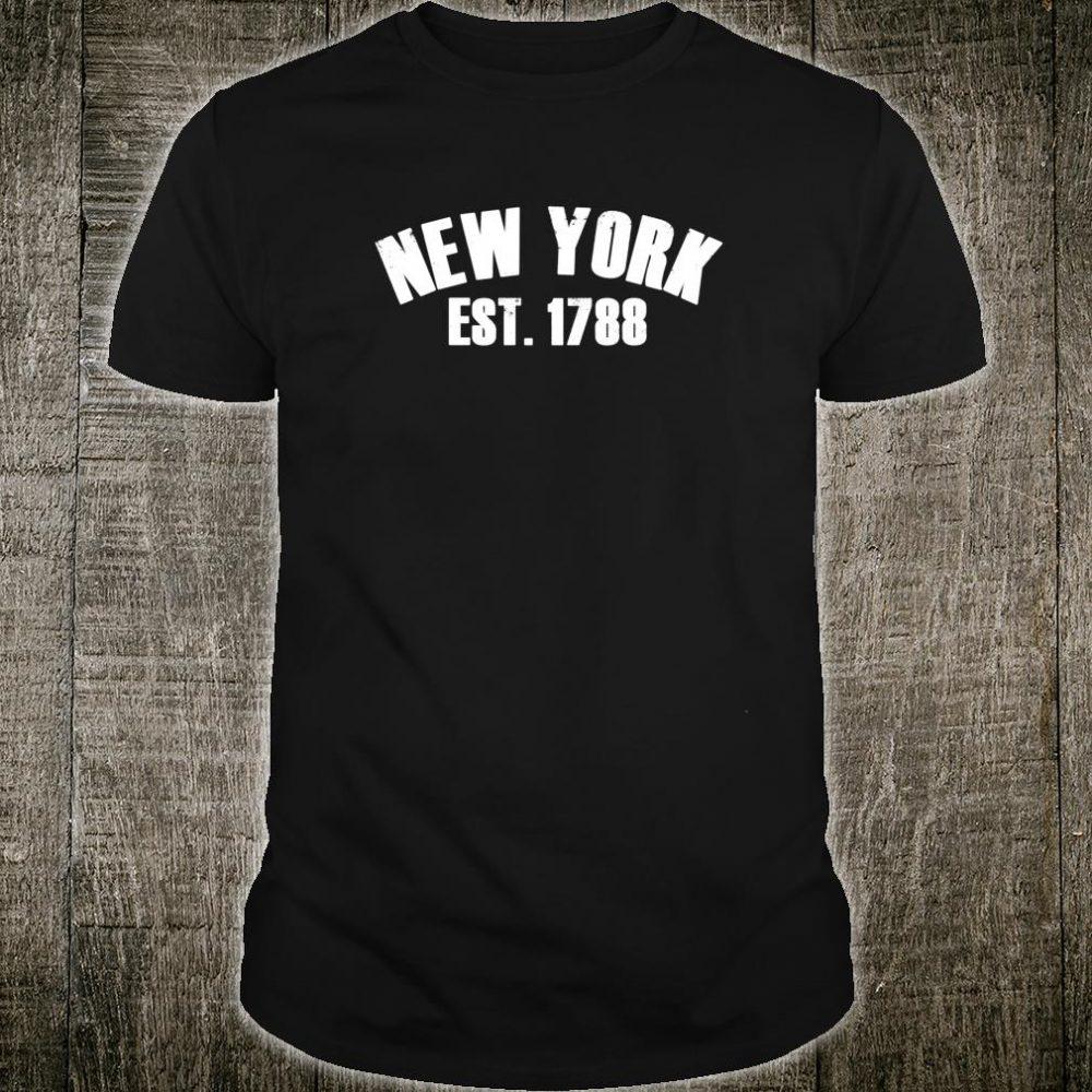 New York EST 1788 New Yorkers NYC NY USA Shirt