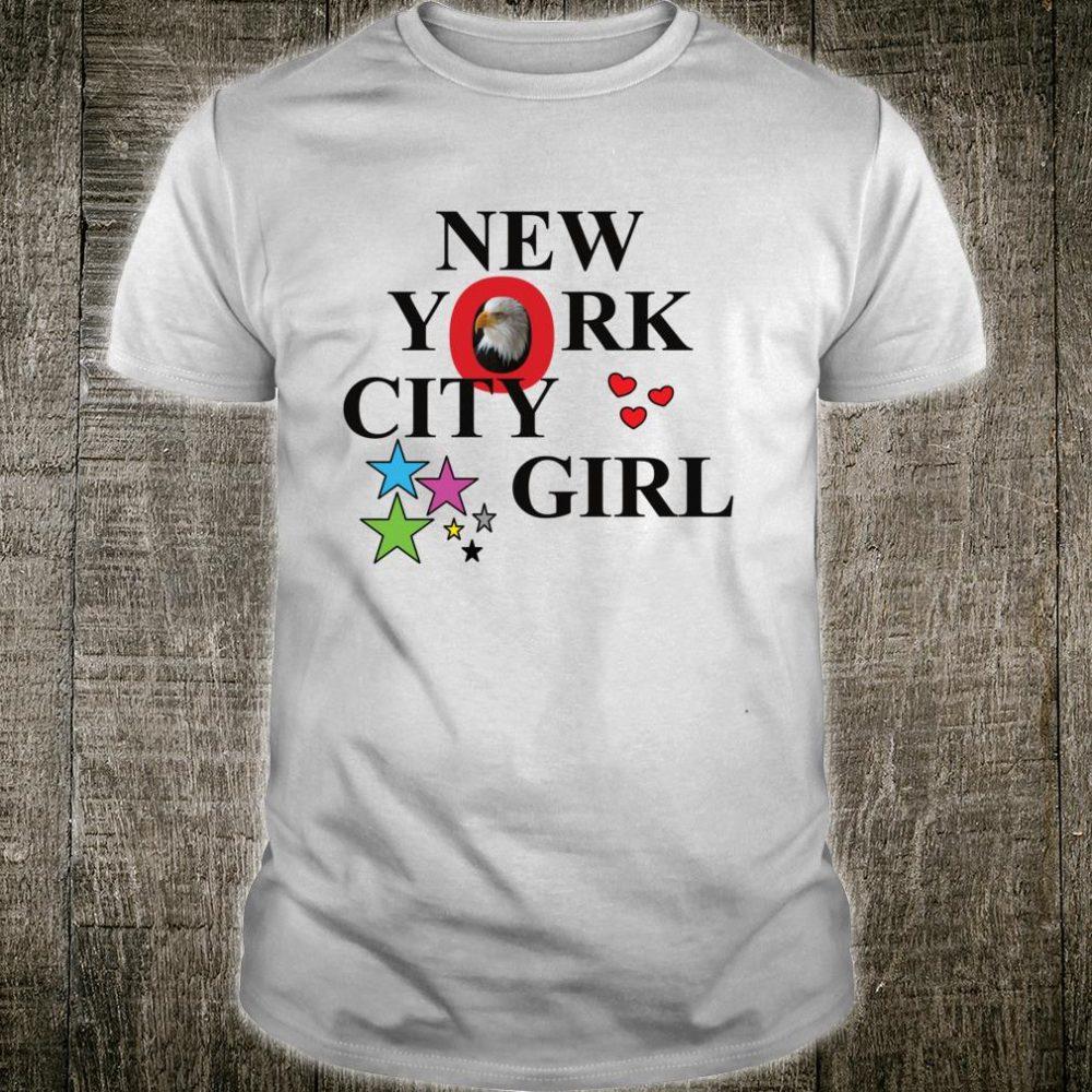 New York I Love NY City Girl's Shirt