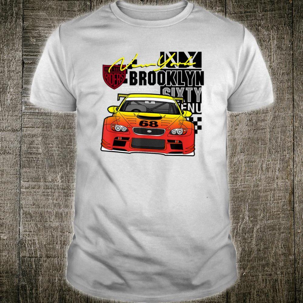 New York and Brooklyn Car Shirt