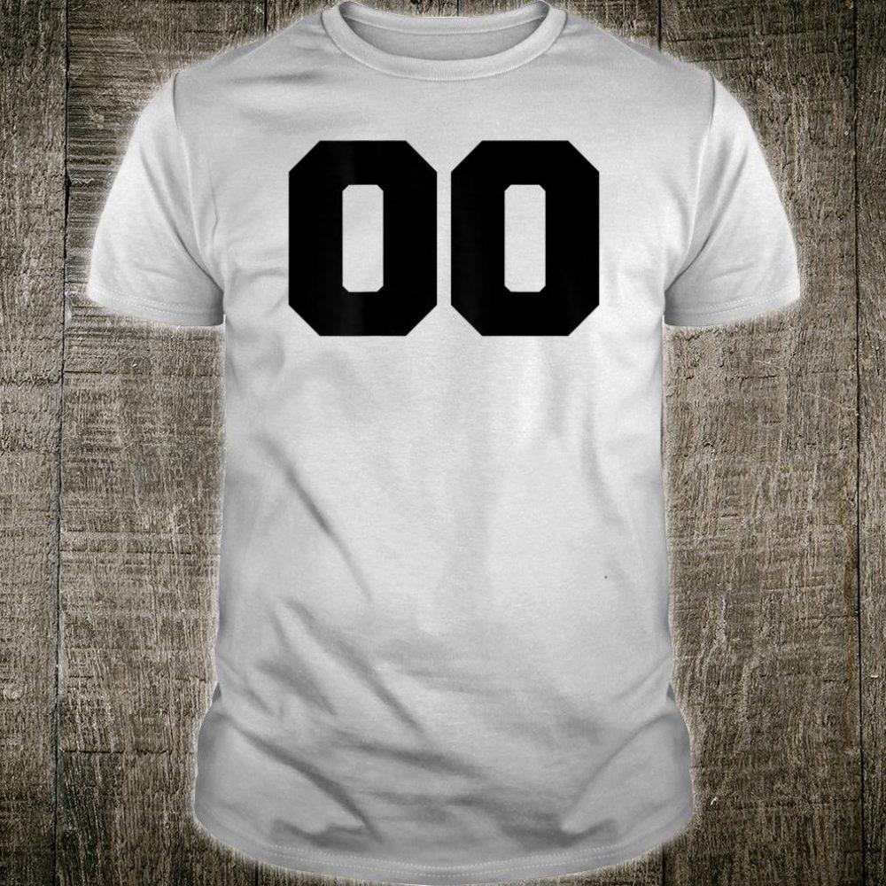 Number 35 Baseball Soccer Jersey #35 BACK PRINT Shirt