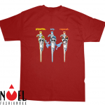 PCR - Pipette Cry Repeat with Three Cartoon Pipettes Shirt