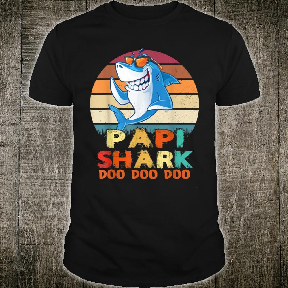 Papi Shark Doo Doo Doo Shirt