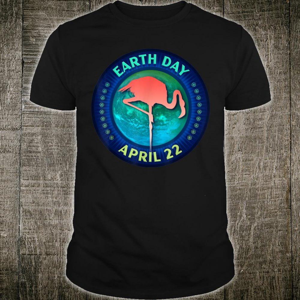 Pink Flamingos Earth Day 50th Anniversary Shirt